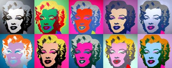 Andy Warhol: stagione di colore efollia