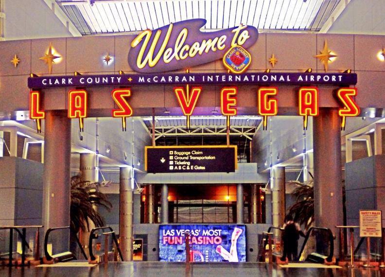 Welcome to Las Vegas - McCarran International Airport, Las Vegas